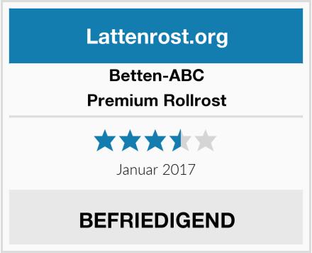 Betten-ABC Premium Rollrost Test
