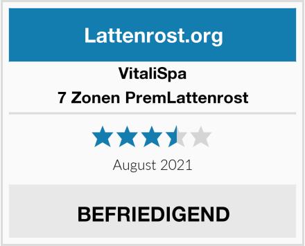 VitaliSpa 7 Zonen PremLattenrost Test