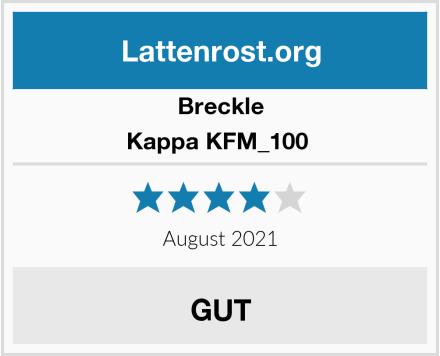Breckle Kappa KFM_100  Test