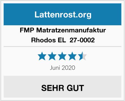FMP Matratzenmanufaktur Rhodos EL  27-0002 Test