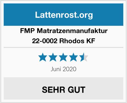 FMP Matratzenmanufaktur 22-0002 Rhodos KF Test