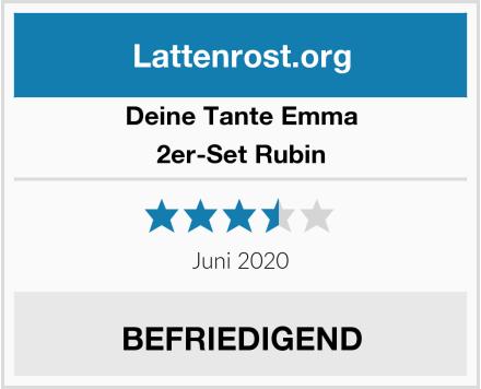 Deine Tante Emma 2er-Set Rubin Test