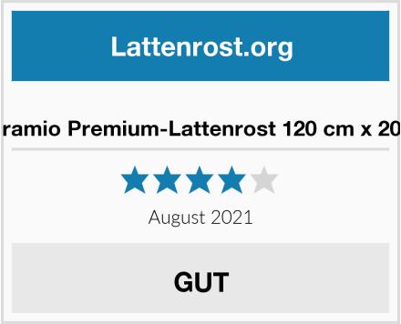 Naturamio Premium-Lattenrost 120 cm x 200 cm Test