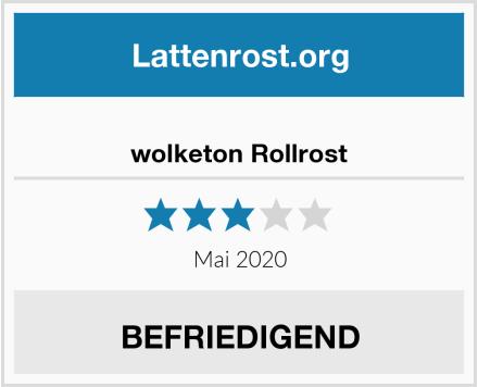 wolketon Rollrost Test