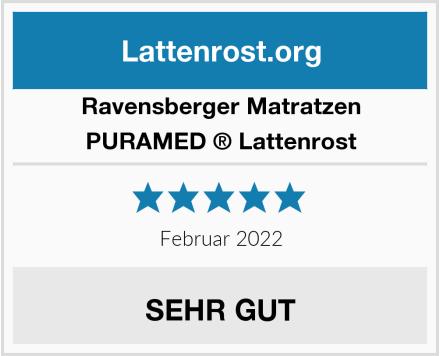 Ravensberger Matratzen PURAMED ® Lattenrost Test