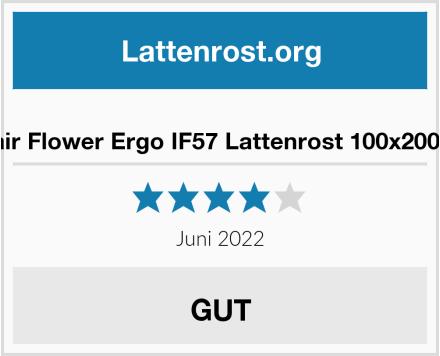 i-flair Flower Ergo IF57 Lattenrost 100x200 cm Test