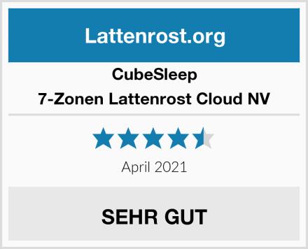 CubeSleep 7-Zonen Lattenrost Cloud NV Test
