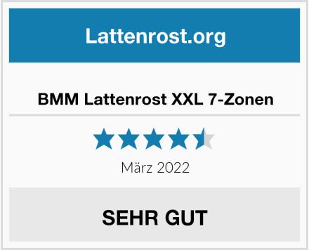 BMM Lattenrost XXL 7-Zonen Test