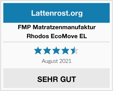 FMP Matratzenmanufaktur Rhodos EcoMove EL Test