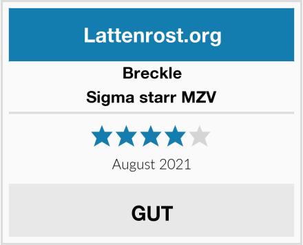 Breckle Sigma starr MZV Test