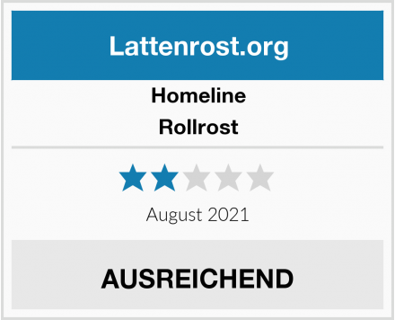 Homeline Rollrost Test