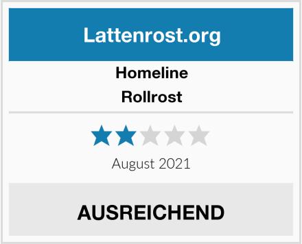 Homeline Rollrost Test