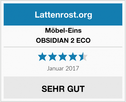 Möbel-Eins OBSIDIAN 2 ECO Test